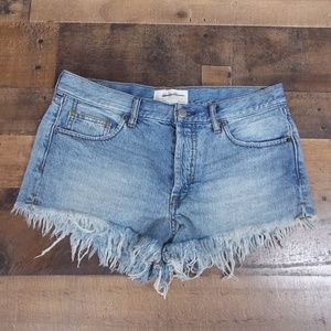 Free People Shorts - We The Free button-fly shorts 27